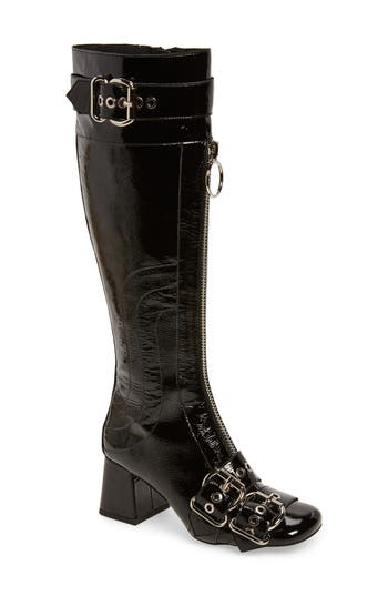 Jeffrey Campbell Peggy Boot- Black