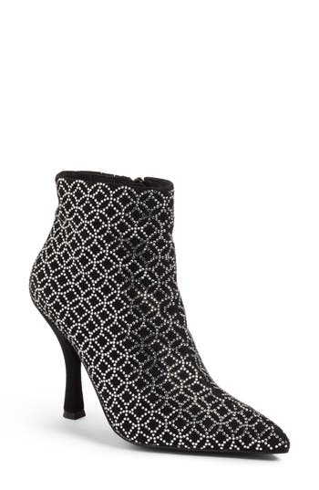 Jeffrey Campbell Brillo Crystal Embellished Bootie, Black