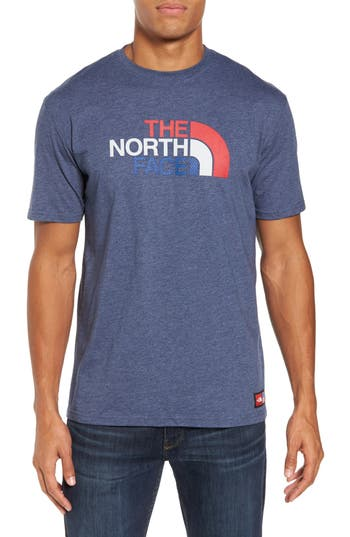 The North Face International Collection Crewneck T-Shirt, Blue