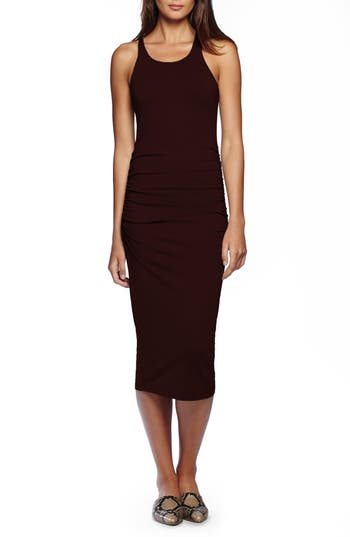 Michael Stars Racerback Midi Dress, Brown