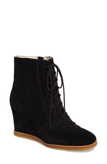 Bettye By Bettye Muller Wander Wedge Bootie, Black