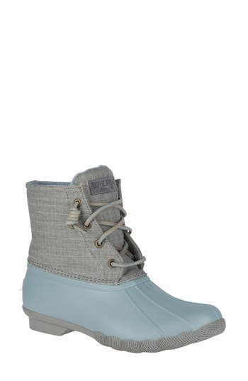 Sperry Saltwater Abyss Waterproof Boot, Grey