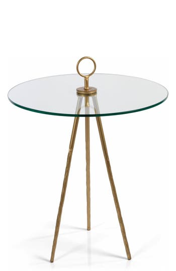 Zodax Palermo Side Table, Size One Size - Metallic