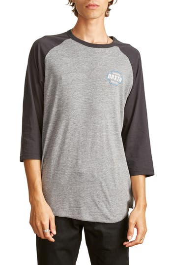 Brixton Garth Baseball T-Shirt