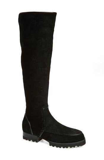 Donald J Pliner Eva Over The Knee Boot, Black