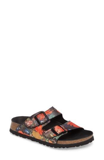 Birkenstock Arizona Lux Sandal, Metallic