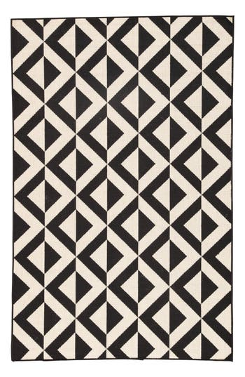 Jaipur Geometric Pattern Rug, Size Swatch - Ivory