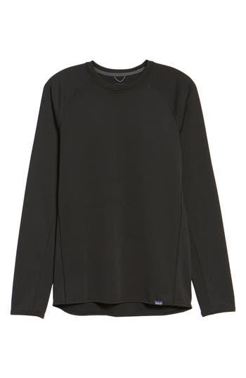 Patagonia Capilene Midweight Base Layer T-Shirt, Black