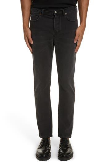 Acne Studios River Used Jeans, Black