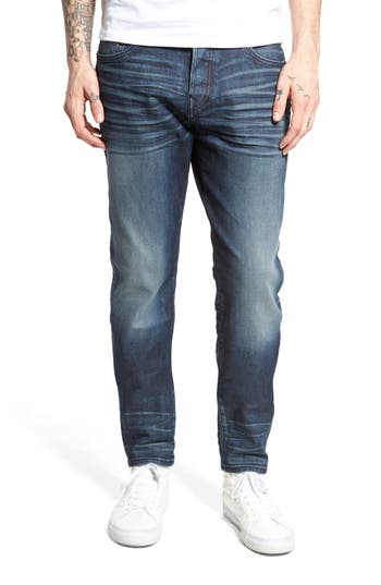 Big & Tall True Religion Brand Jeans Logan Slim Straight-Leg Jeans, Blue