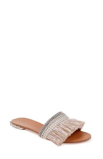 Badgley Mischka Sharlene Sandal- White