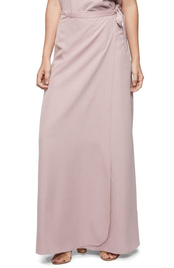 Tavik Lasting Impressions Cover-Up Maxi Skirt, Purple