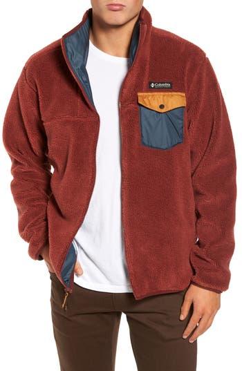 Columbia Mount Tabor Pocketed Fleece Jacket, Orange