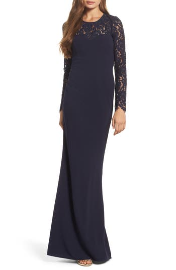 Lulus Whenever You Call Maxi Dress, Blue