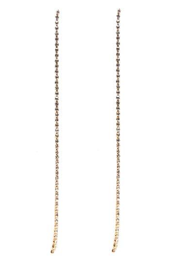 Women's Ettika Crystal Chain Earrings