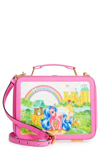 Moschino X My Little Pony Leather Lunch Box - Pink
