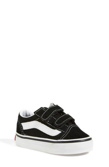 Infant Vans Old Skool Sneaker Size 2 M  Black