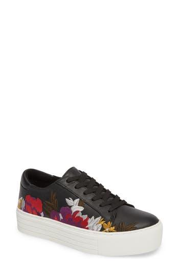 Kenneth Cole New York Abbey Platform Sneaker- Black