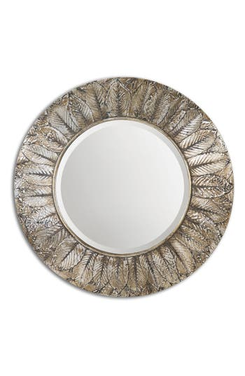 Uttermost Foliage Wall Mirror, Size One Size - Grey