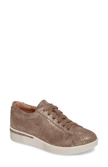 Gentle Souls Haddie Low Platform Sneaker, Brown