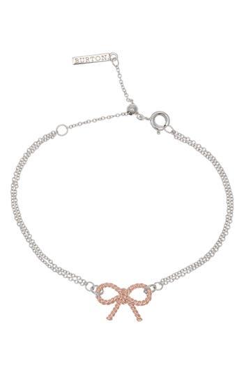 Women's Olivia Burton Vintage Bow Chain Bracelet