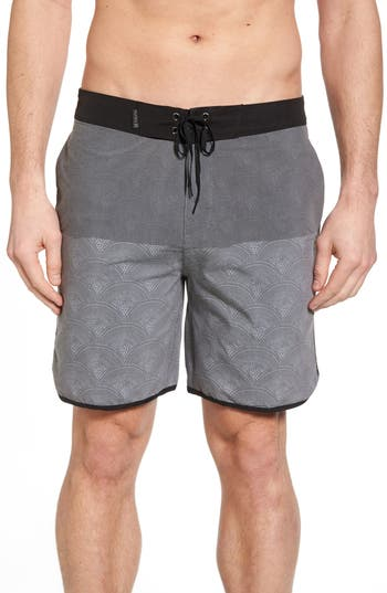 Hurley Beachside Pescado Boardshorts, Black