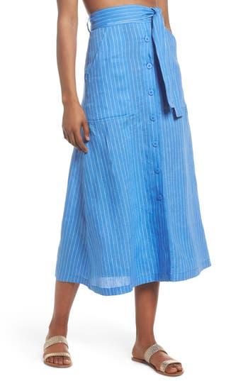 Diane Von Furstenberg Cover-Up Skirt, Blue