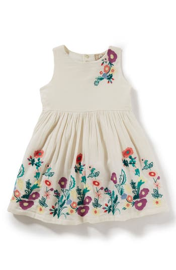 Girls Peek Isabelle Embroidered Dress