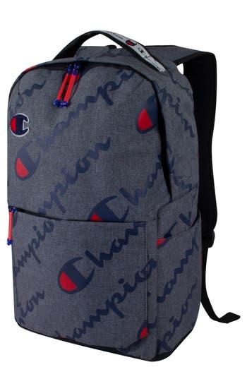 Champion Advocate Logo Backpack - Grey