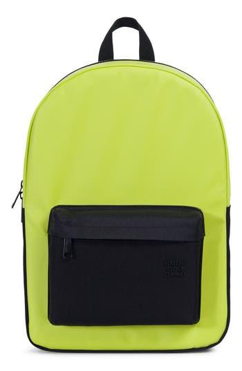 Herschel Supply Co. Winlaw Polycoat Studio Backpack - Green