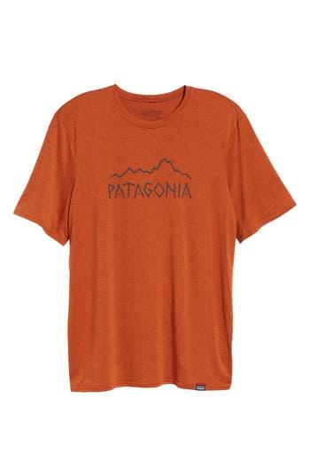 Men's Patagonia Capilene Daily Regular Fit T-Shirt, Size XX-Large - Metallic