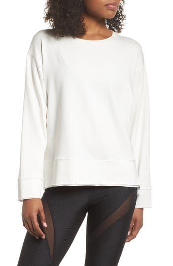 Women's Koral Global Sweatshirt, Size X-Small - White