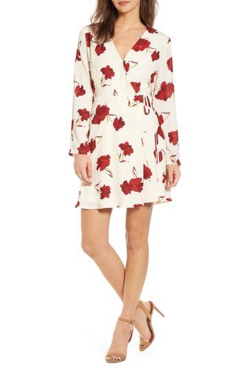 Women's Elly Wrap Dress, Size X-Small - Ivory
