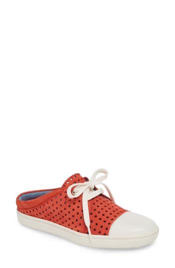 Women's Robert Zur Tippy Tie Sneaker, Size 6 M - Pink