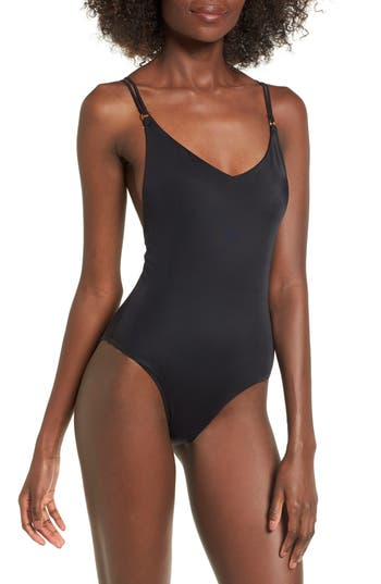 Topshop Strappy One-Piece Swimsuit