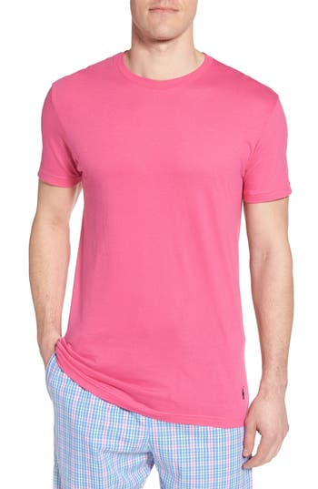 Men's Polo Ralph Lauren 3-Pack Classic Fit Crewneck T-Shirt, Size Small - Pink
