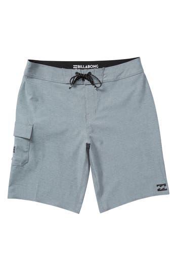 Boys Billabong All Day X Board Shorts Size 22  Grey