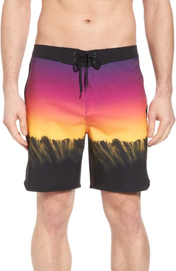 Hurley Phantom Estuary Board Shorts, Pink
