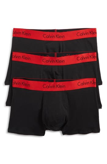 Calvin Klein 3-Pack Cotton Trunks