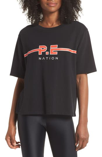 P.e Nation The Dartford Graphic Tee, Black