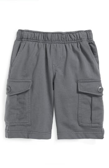 Boys Tea Collection Cotton Cargo Shorts Size 5  Grey