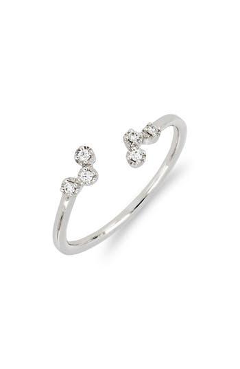 Bony Levy Mila Scattered Diamond Open Ring