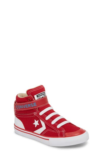 Boys Converse Pro Blaze High Top Sneaker Size 4 M  Red
