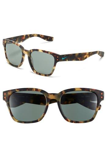 Nike Volano 55Mm Sunglasses - Matte Tokyo Tortoise/ Jade