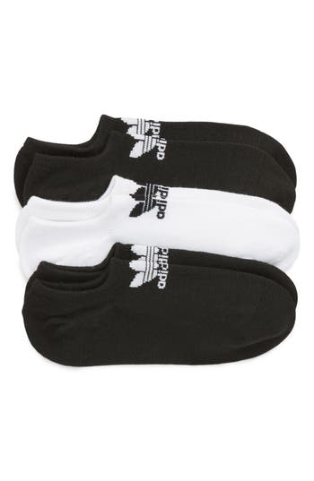 adidas Originals 3-Pack No-Show Socks