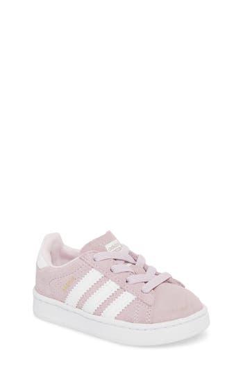 Kids Adidas Campus J Sneaker Size 55 M  Pink