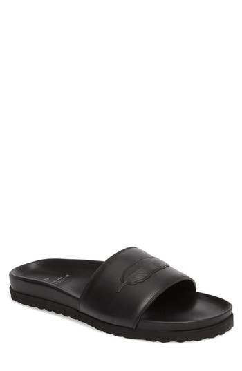 BUSCEMI Men's Feather Logo Sport Slide