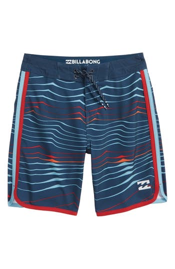 Boys Billabong 73 X Line Up Board Shorts