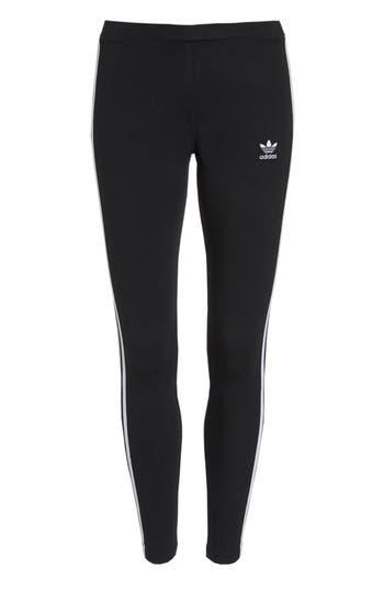 Adidas 3-Stripes Tights, Black
