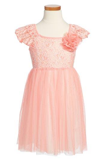 Girls Popatu Tulle Skirt Party Dress